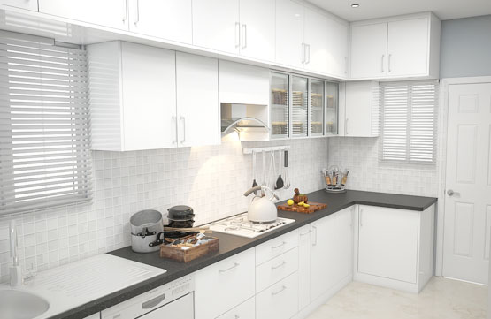 Building a Peninsula Type Kitchen for your Modern City Home